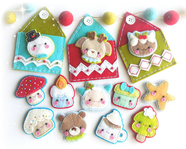 Sew your own Kawaii Advent Calendar