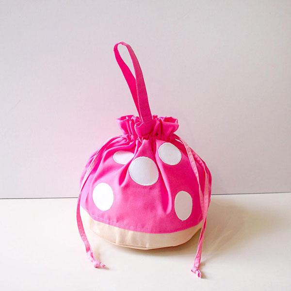 Kawaii mushroom bag