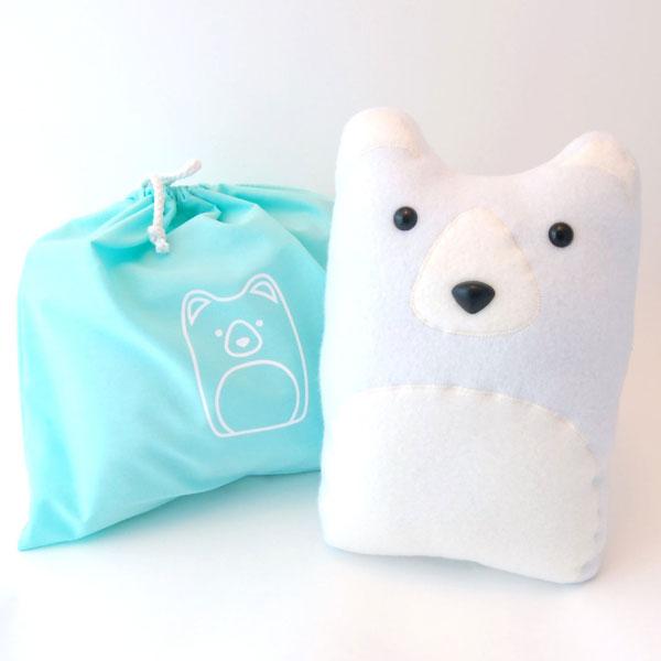 DIY Craft Kits - polar bear plush