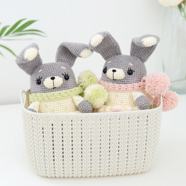 kawaii bunny rabbit amigurumi crochet patterns