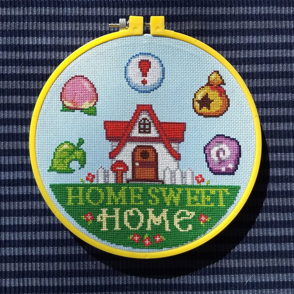 Animal Crossing cross stitch patterns