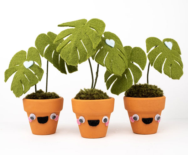 handmade kawaii plants