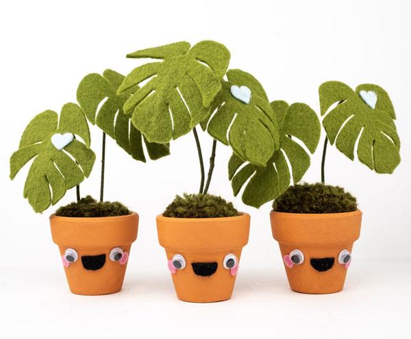 handmade kawaii plants