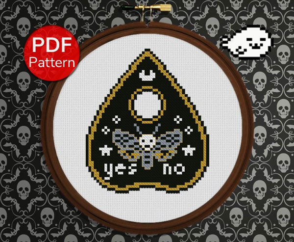 creepy cute cross stitch patterns