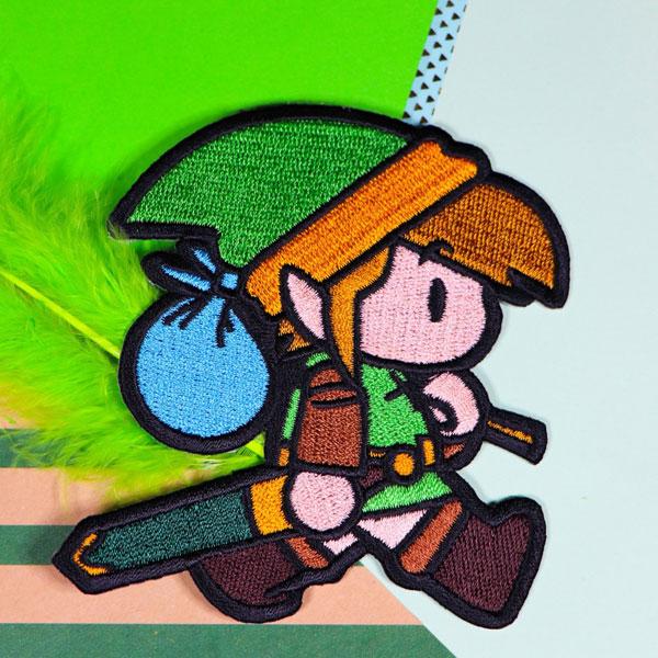 Link's Awakening kawaii chibi patch