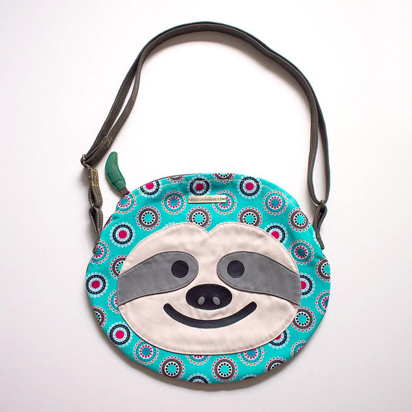 Kawaii sloth bag