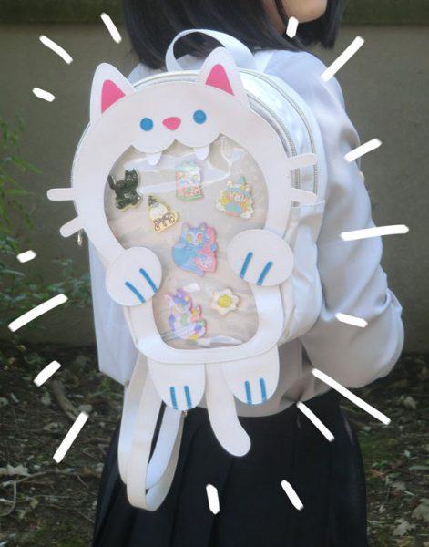 Cat Kawaii Ita Bags
