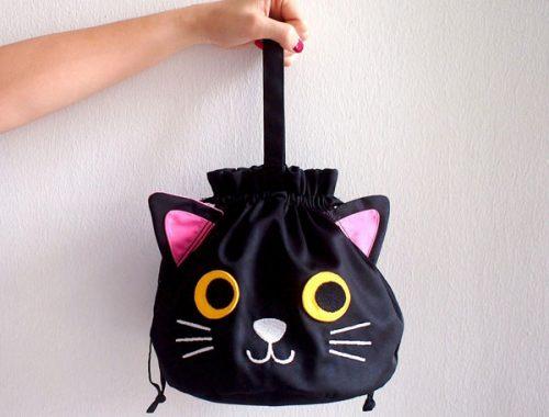 Kawaii cat bag