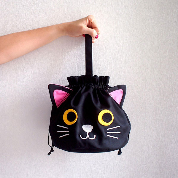 Kawaii cat bag