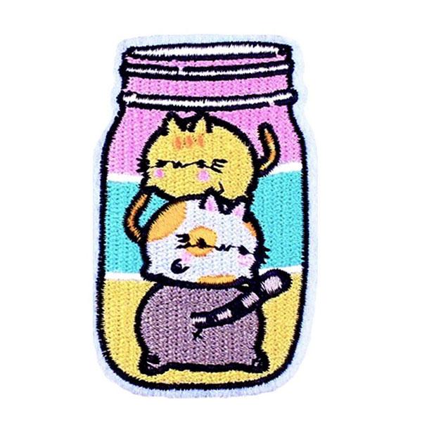 kawaii patches - cats
