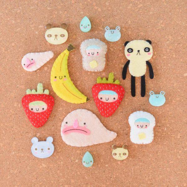 handmade kawaii pins