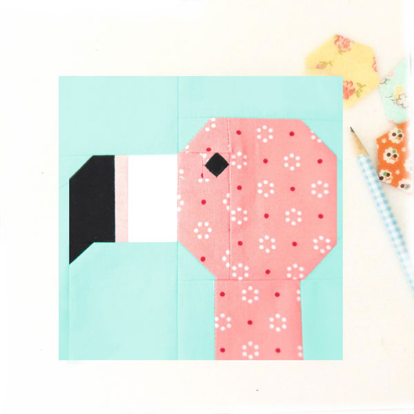 Flamingo DIYs - quilt pattern