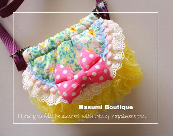 handmade kawaii pochette bag