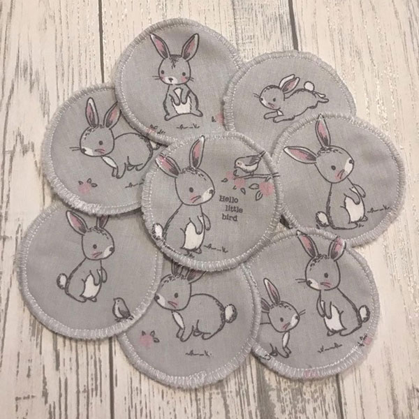 Cute Eco Friendly Gifts - reusable fabric pads