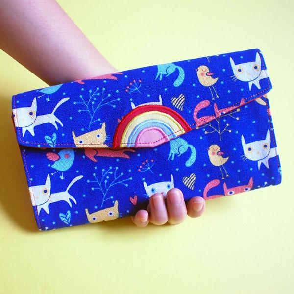 Kawaii cat wallet
