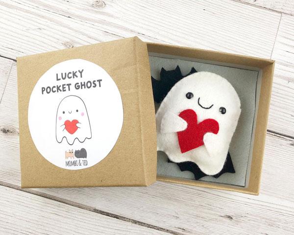 Kawaii Halloween lucky ghost