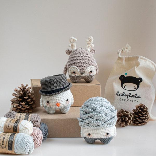 DIY Craft Kits - christmas amigurumi crochet