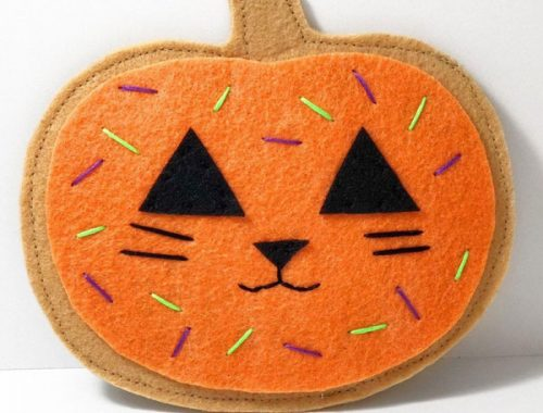 Halloween Cat Toys - catnip pumpkin