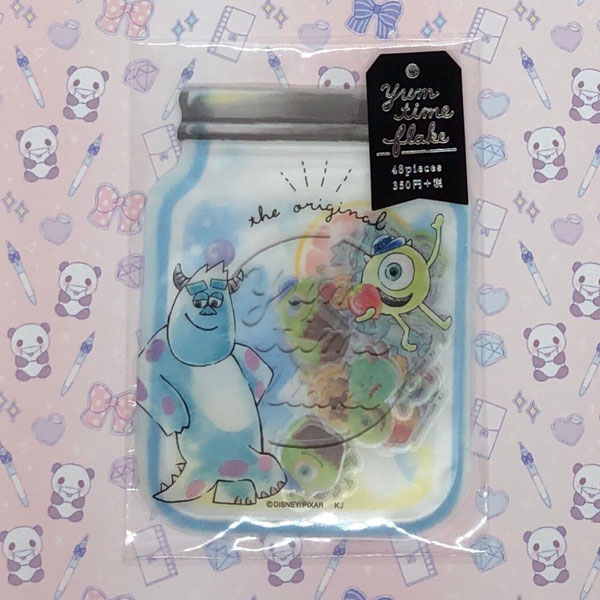 Kawaii Disney Stationery - Monsters Inc stickers