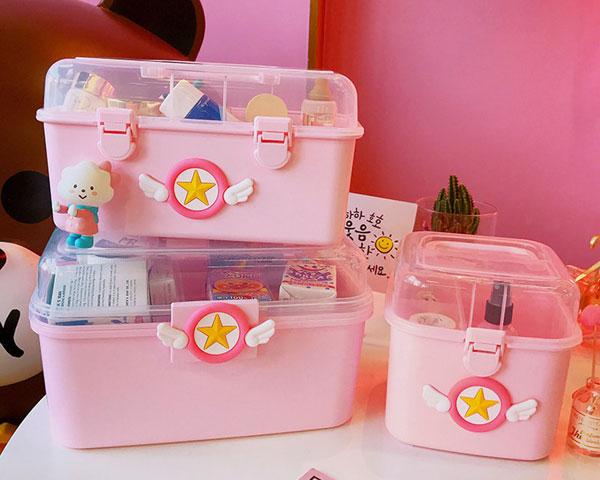 kawaii storage boxes