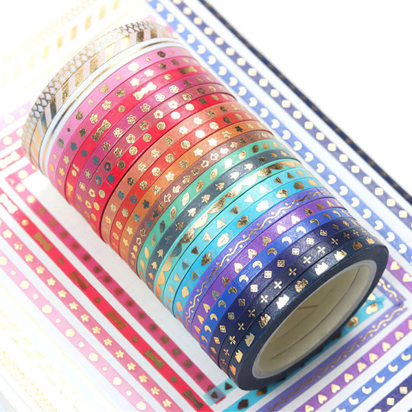 Kawaii Pride Month - rainbow washi tape