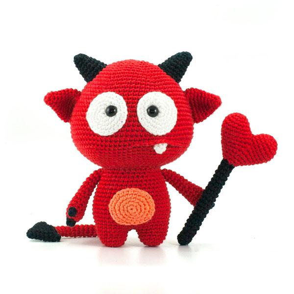 Valentines Day amigurumi crochet pattern
