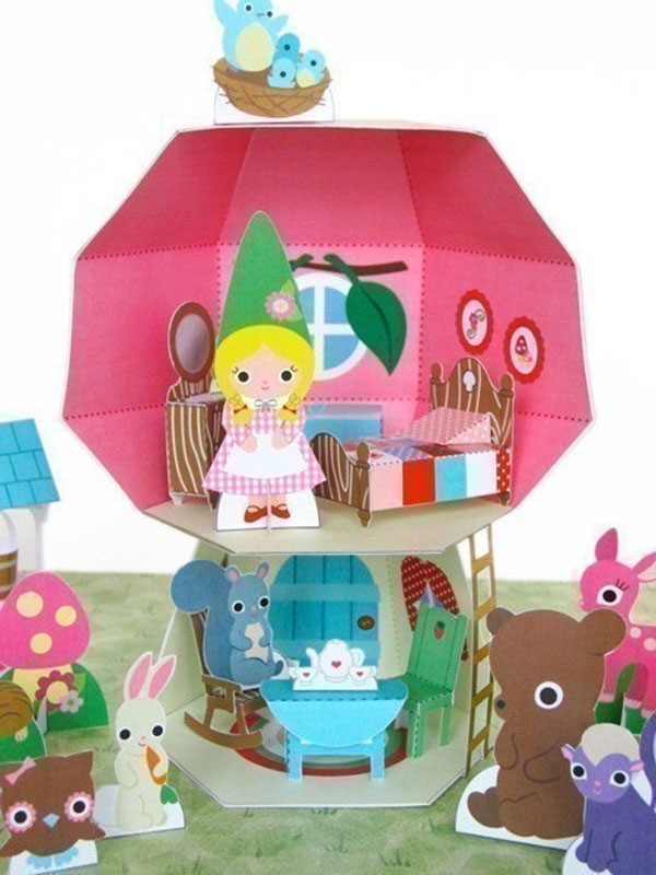 DIY Dollhouse paper crafts