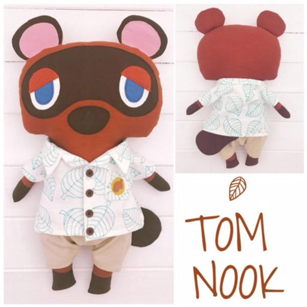 kawaii Animal Crossing sewing pattern