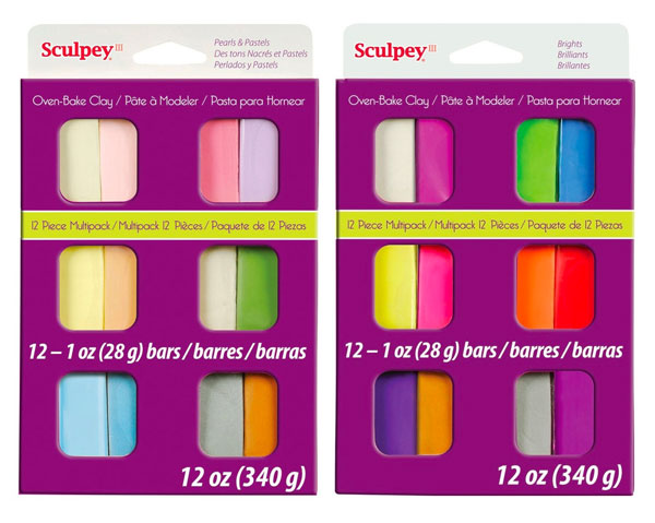 Colourful Craft Supplies - sculpey polymer clay