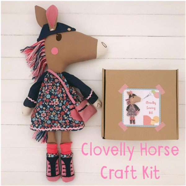 kawaii horse doll craft kit