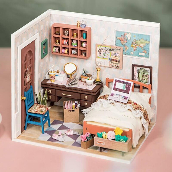 Kawaii dollhouse kits