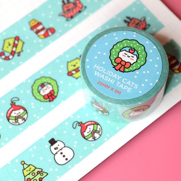 Kawaii Christmas washi tape