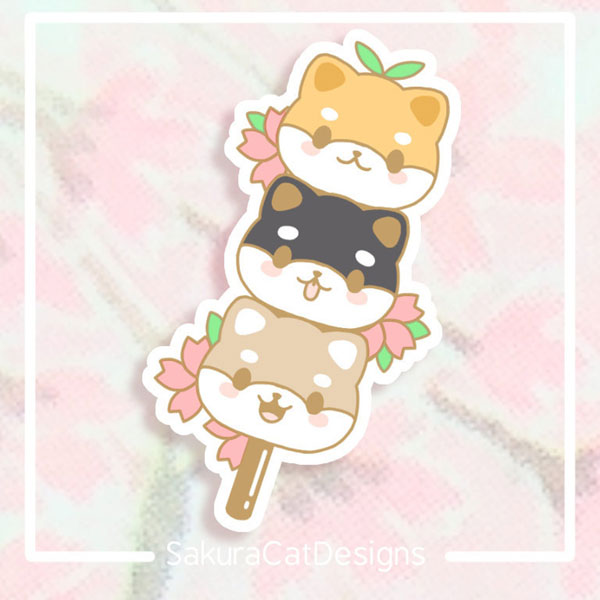 Sakura Journaling stickers