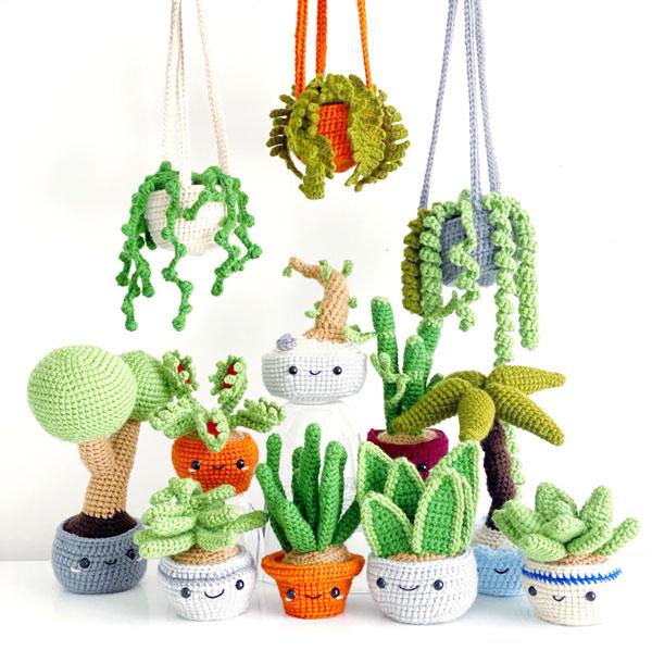plants kawaii crochet patterns