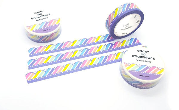 bullet journal kawaii washi tape