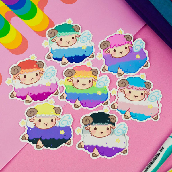 Pride Flags stickers