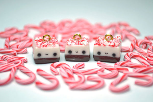 Kawaii Christmas charms
