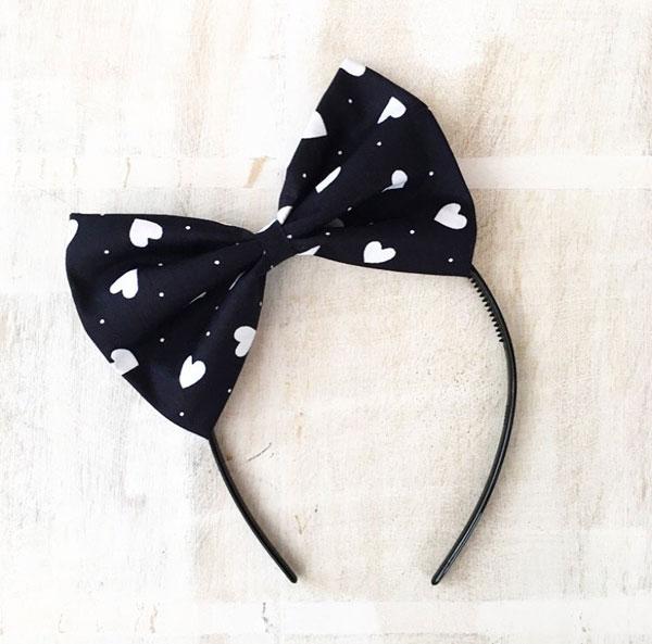 Cute Hair Accessories - giant bow headband