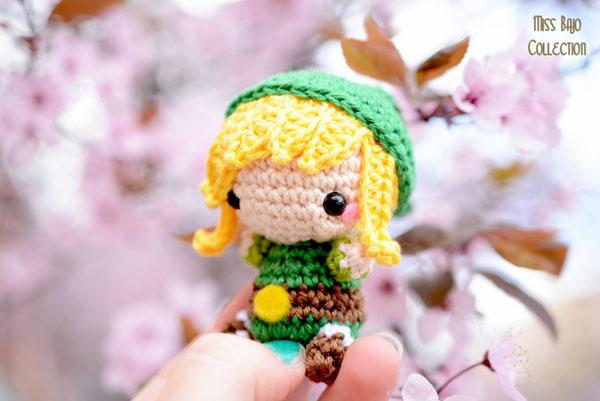 Link's Awakening kawaii amigurumi crochet toy