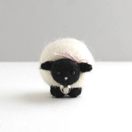 The Grey Woods sheep needle felting kits