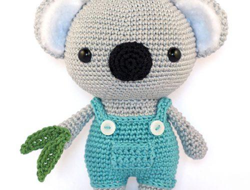 DIY Fluffies koala amigurumi pattern