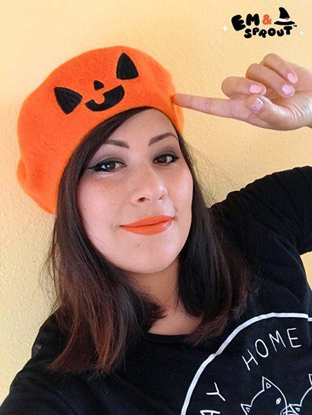 Spooky Cute Halloween kawaii pumpkin hat