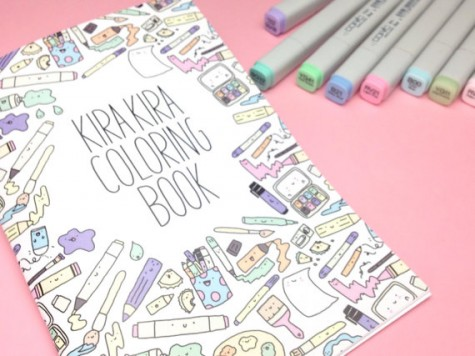 there are some super cute books for colouring drawing and activities out there and heres a few of my favourites - Kawaii Coloring Book