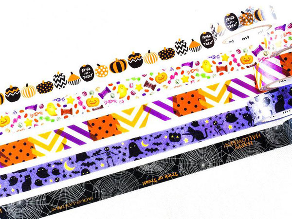 Kawaii Halloween Washi Tape