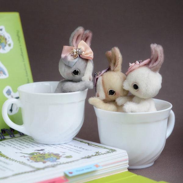 Cute Bunny Plush Sewing Kits & Patterns