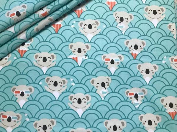 kawaii koala crafts - fabric
