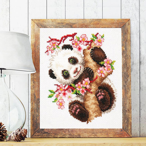 Sakura Cherry Blossom cross stitch kit