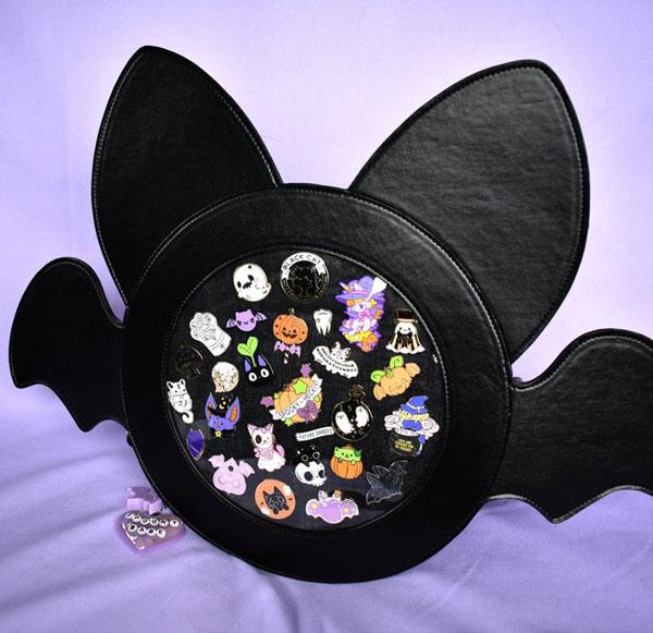 Halloween Bat Kawaii Ita Bags