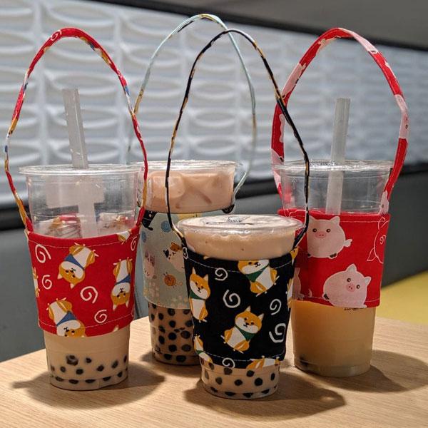 Kawaii Bubble Tea Carriers