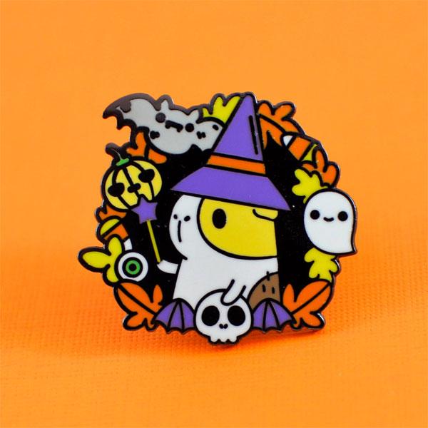 Kawaii Halloween Enamel Pins - guinea pig